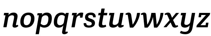 Crete Round Italic Font LOWERCASE