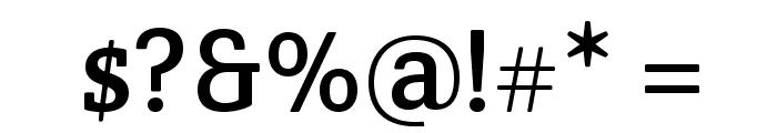 CreteRound-Regular Font OTHER CHARS