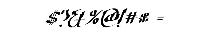 Cretino-Regular Font OTHER CHARS