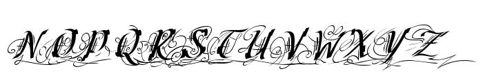 Cretino-Regular Font UPPERCASE