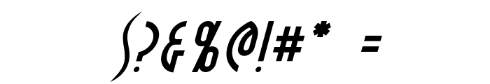 Crichton Italic Font OTHER CHARS