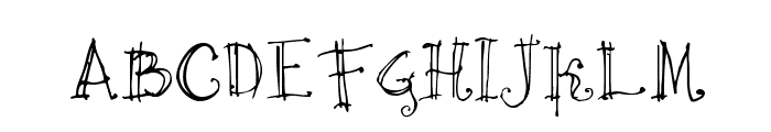 Cricket Font UPPERCASE