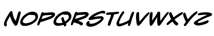 CrimeFighter BB Bold Font UPPERCASE