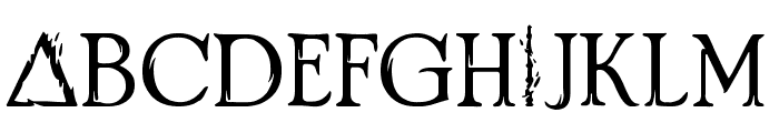 Crimes of Grindelwald Font LOWERCASE