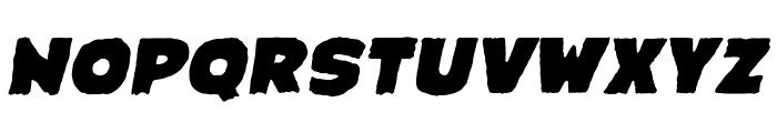 CrimewaveBB-Italic Font UPPERCASE