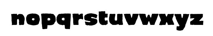 CrimewaveBB Font LOWERCASE
