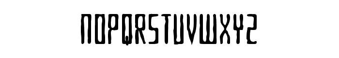 Criminal Hand Font UPPERCASE