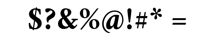 Crimson Bold Font OTHER CHARS