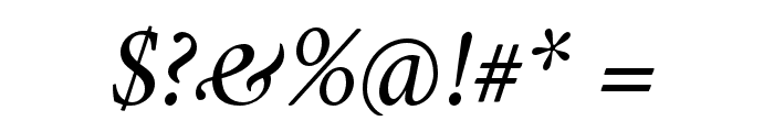 Crimson Italic Font OTHER CHARS