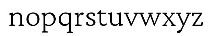 Crimson Pro ExtraLight Font LOWERCASE