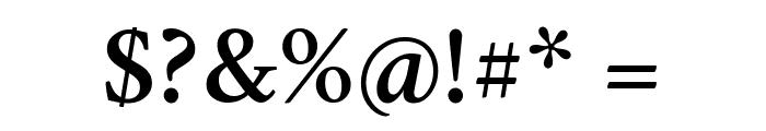 Crimson Semibold Font OTHER CHARS