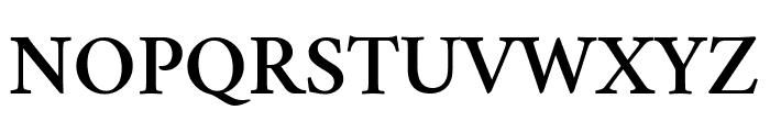 Crimson Semibold Font UPPERCASE