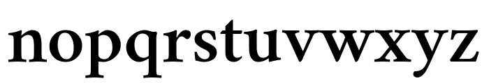 Crimson Semibold Font LOWERCASE