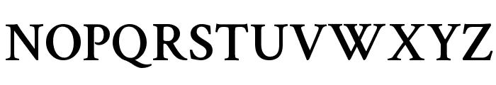 Crimson Text Semibold Font UPPERCASE