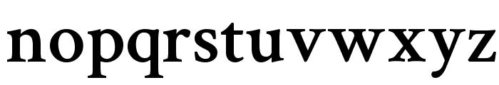 Crimson Text Semibold Font LOWERCASE