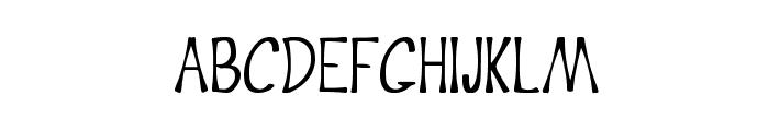 Crisp Font UPPERCASE