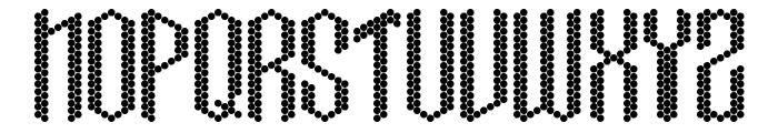 Crissco FP Font LOWERCASE