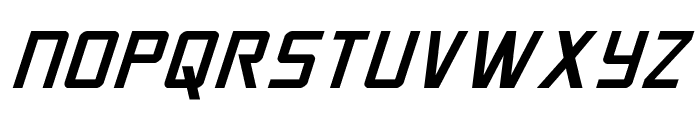 Crixus Italic Font UPPERCASE