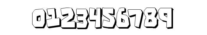 Cro-Magnum Condensed Shadow Font OTHER CHARS