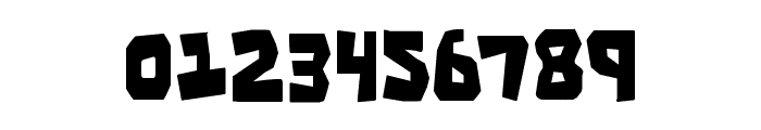 Cro-Magnum Condensed Font OTHER CHARS