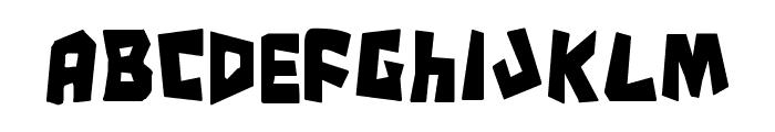 Cro-Magnum Condensed Font LOWERCASE