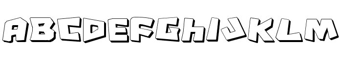 Cro-Magnum Shadow Font LOWERCASE