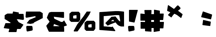 Cro-Magnum Font OTHER CHARS