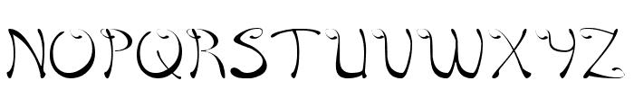 Croisant Sandwich-thin Font UPPERCASE