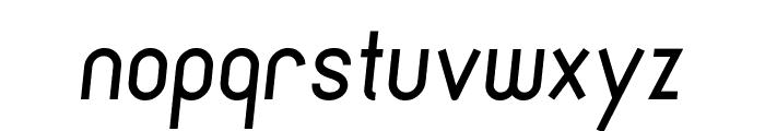 Cronus Italic Font LOWERCASE