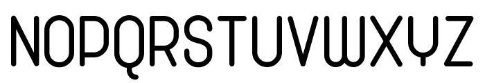 Cronus Round Font UPPERCASE