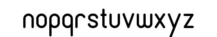 Cronus Round Font LOWERCASE