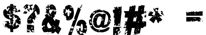Crookiid veredgf Font OTHER CHARS