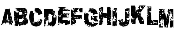 Crookiid veredgf Font UPPERCASE