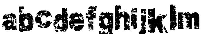 Crookiid veredgf Font LOWERCASE