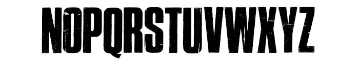 Cross Town Font UPPERCASE