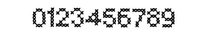 CrossSew Regular Font OTHER CHARS