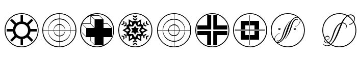 CrossesCirclesEtc Font OTHER CHARS