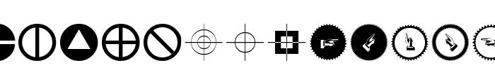 CrossesCirclesEtc Font UPPERCASE