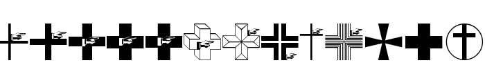 CrossesCirclesEtc Font LOWERCASE