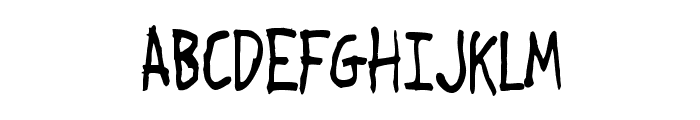 Crosspatchers delight normal Font UPPERCASE