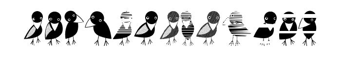 Crow Regular Font UPPERCASE