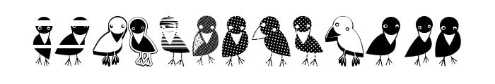 Crow Regular Font LOWERCASE