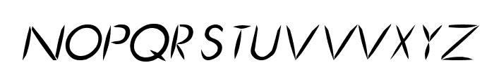 Cru-chaipot-mymoon-blod-ltalic Font UPPERCASE