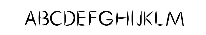 Cru-chaipot-mymoon-blod Font UPPERCASE