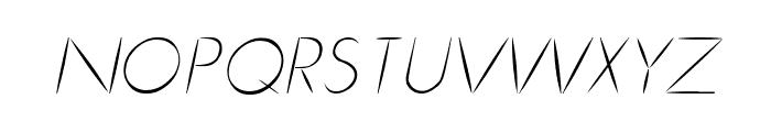 Cru-chaipot-mymoon-ltalic Font UPPERCASE