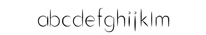 Cru-chaipot-mymoon Font LOWERCASE
