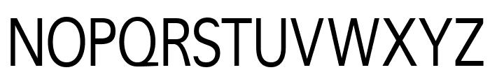 CrucifixSansOne Condensed Font UPPERCASE