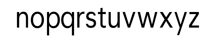 CrucifixSansOne Condensed Font LOWERCASE