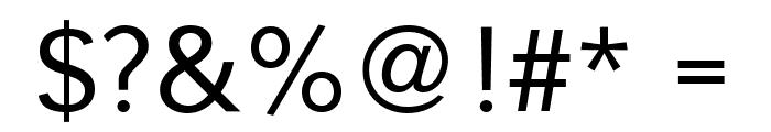 CrucifixSansOne Regular Font OTHER CHARS