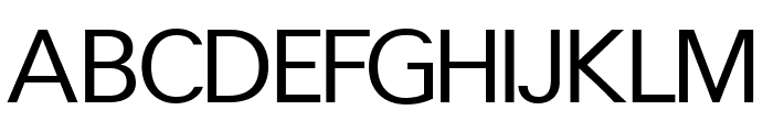CrucifixSansOne Regular Font UPPERCASE